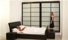 מיטה זוגית מעוצבת