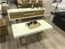מזנון ושולחן סלון 2 קומות