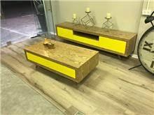 מזנון ושולחן סלון רטרו - ולוצ'ה