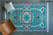 שטיח מיסוני טורקיז