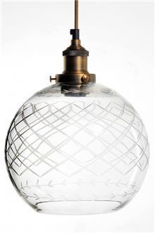 מנורת תלייה כדור טקסטורה