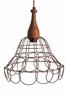 מנורת תלייה רשת - קארמה המרכז לעיצוב הבית