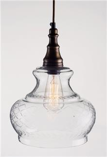 מנורה תלויה לילך