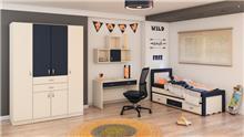 חדר נוער קומפלט דגם 445 - רהיטי עינבל
