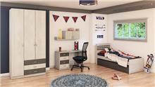 חדר נוער קומפלט דגם 444 - רהיטי עינבל