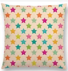 כרית נוי כוכבים