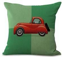 כרית נוי אוטו אדום - רהיטי עינבל