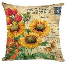 כרית נוי פרחים - רהיטי עינבל