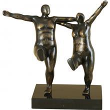 פסל רקדנים שמנים