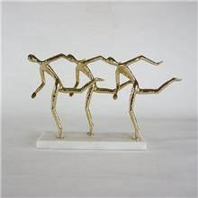 פסל אצנים דקורטיבי