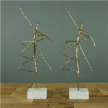 פסל רקדנים דקורטיבי