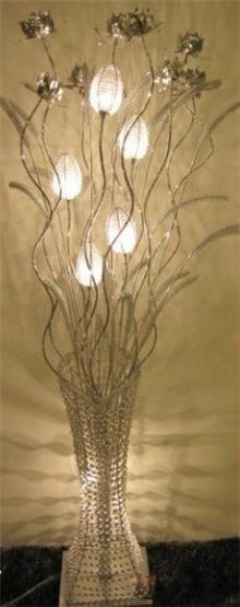 מנורת פרחים מוארת - Green house