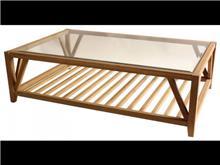 שולחן פסים אלון - Green house