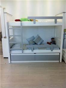 מיטת קומותיים דגם בר - Green house
