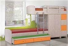 מיטת קומותיים דגם סנדי - Green house