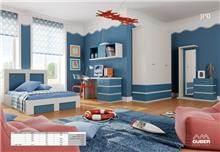 חדר ילדים דגם סיוון - Green house