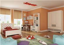 חדר ילדים דגם קלאסיק - Green house
