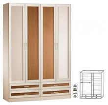 ארון 4 דלתות דגם קיצ'י - Green house