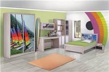 חדר ילדים דגם קלואי - Green house