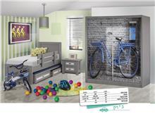 חדר ילדים קומפלט ג'וק - Green house