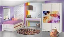 חדר ילדים קומפלט דגם מאיה - Green house