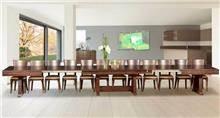 שולחן אוכל ענק דגם תמי - Green house