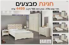 חדר שינה כולל ארון הזזה נלה - Green house