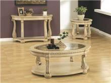 שולחן סלון מעץ B0808 - Green house
