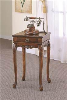 שולחן צד עם מגירה B0637 - Green house