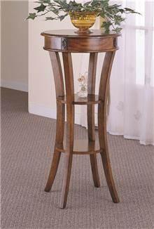 שולחן צד מעץ מלא B0617 - Green house