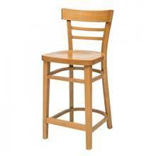 כסא בר סבתא מושב עץ - Green house