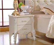 שידה לבנה מעוצבת - רהיטי עטרת