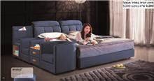 מיטה זוגית מדגם - HY1503 - רהיטי עטרת