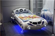 מיטת חללית מעוצבת לילדים - רהיטי עטרת