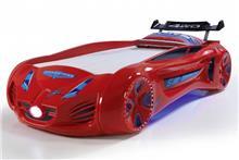 מיטת רכב לילדים דגם מקלארן אדום - רהיטי עטרת