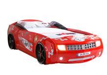 מיטת רכב ילדים דגם קמארו אדום - רהיטי עטרת