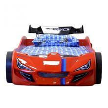 מיטת רכב לילדים דגם רייסר אדום 2 - רהיטי עטרת