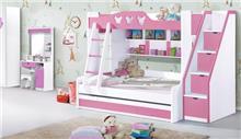 מיטת קומותיים A17-1 - רהיטי עטרת