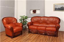סלון עור יוקרתי בעיצוב איטלקי (3) - רהיטי עטרת