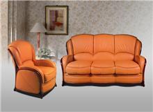 סלון עור יוקרתי בעיצוב איטלקי (49) - רהיטי עטרת