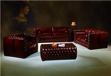 סלון עור יוקרתי בעיצוב איטלקי (53) - רהיטי עטרת