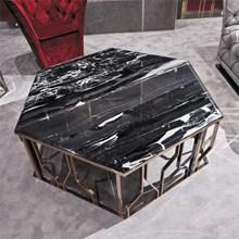 שולחן סלוני מעוצב מנירוסטה 347 - רהיטי עטרת