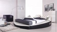מיטה זוגית עגולה דגם A066-1 with speaker - רהיטי עטרת