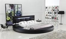 מיטה זוגית עגולה דגם A508-1 - רהיטי עטרת