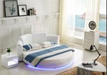 מיטה זוגית עגולה דגם CY001-1(C016) - רהיטי עטרת