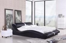 מיטה זוגית דגם A070 black - רהיטי עטרת