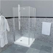 מקלחון פינתי RENAISSANCE 236 - ArtGlass