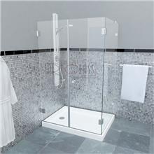 מקלחון פינתי CAMELLIA 136 - ArtGlass