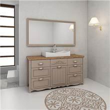 ארון אמבטיה דגם שרלוט - מלודי קרמיקה