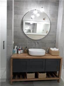 ארון אמבטיה כפרי   - A.B DESIGN